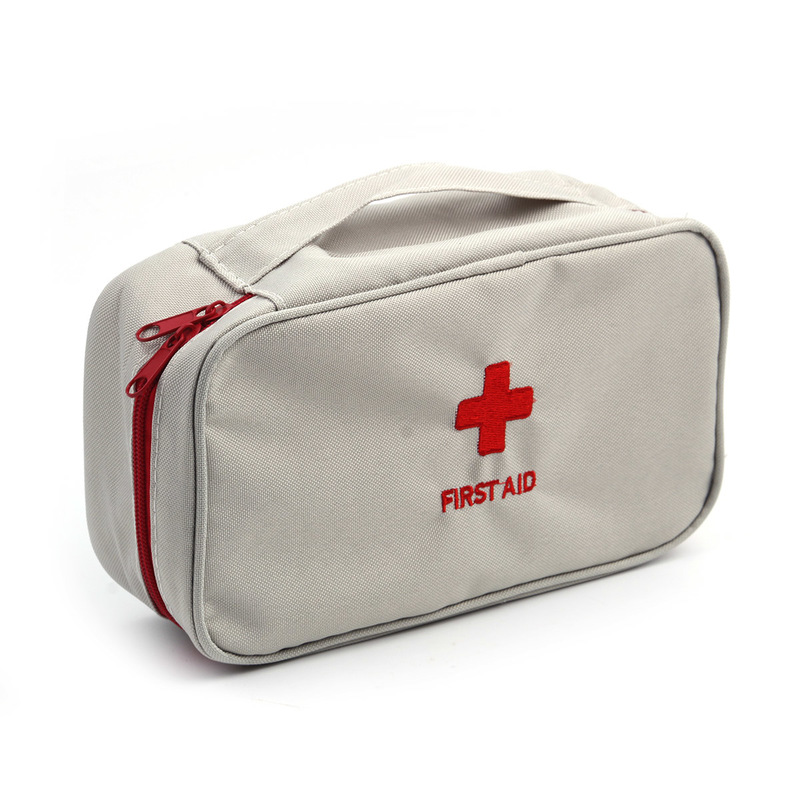Large Medicine Storage Bag Travel Camping Tactical Self Defense Oxford Cloth Outdoor Emergency Kit Survival Tools First Aid Fami цена и фото