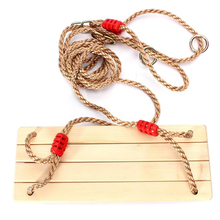 цена на Adults and children swinging swings swinging wooden swing with rope