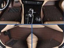 Alfombras esteras del piso del coche para Chrysler 300C PT Cruiser Sebring voyager Crossfire Regal Royaum GL8 Park Avenue LaCrosse enclave