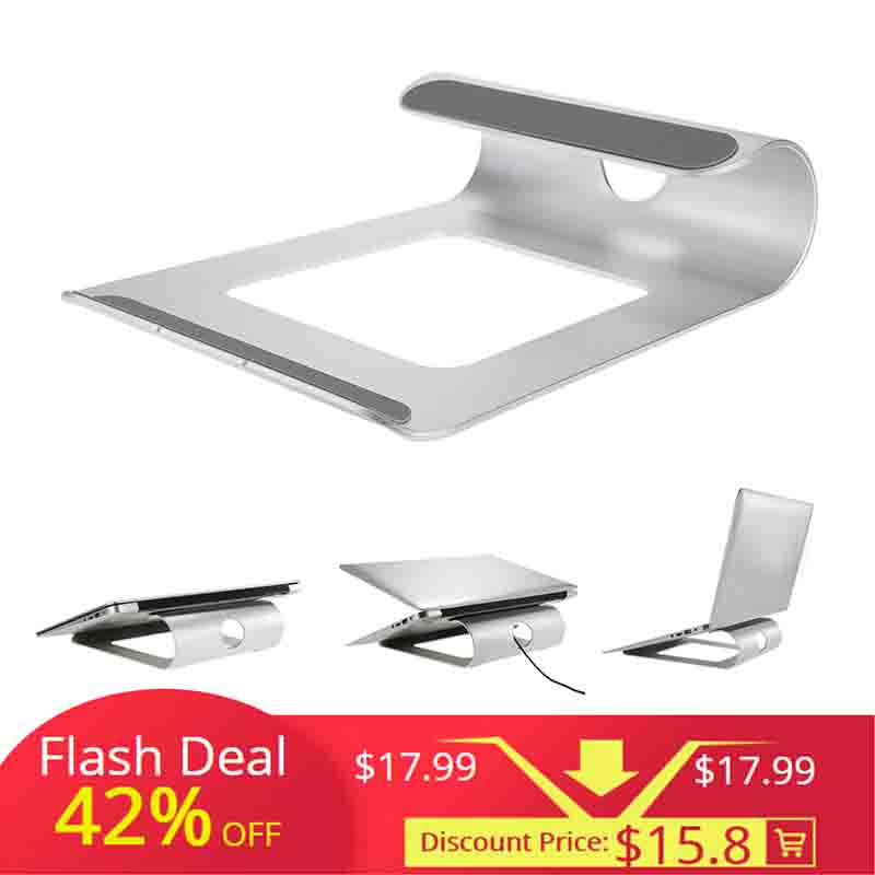 Gewidmet Aluminium Laptop Stand Schreibtisch Dock Halter Halterung Kühler Cooling Pad Für Macbook Pro/air/ipad/iphone/ Notebook/tablet/pc/smartphone