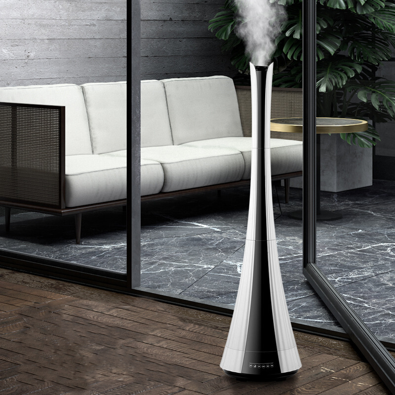6L Floor-standing Air Humidifier Household Mute Remote Control Bedroom Office High Capacity Aromatherapy Dual-core