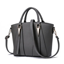 High Quality Womens V-Shape Handbags Leather Shoulder Bags Large Top-Handle Crossbody Tote Messenger
