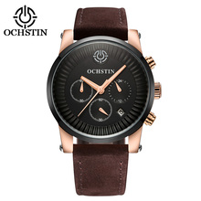 2018 HOT OCHSTIN Date Chronograph Luxury Top Brand Watches Men Watch Quartz Military Sport Wrist Watch Hodinky Relojes Hombre hot sale fabulous fashion men led digital date sport military rubber quartz watch alarm relogio relojes mujer 0215
