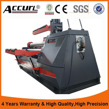 heavy type plate rolling machine plate roll hydraulic metal plate bending machine