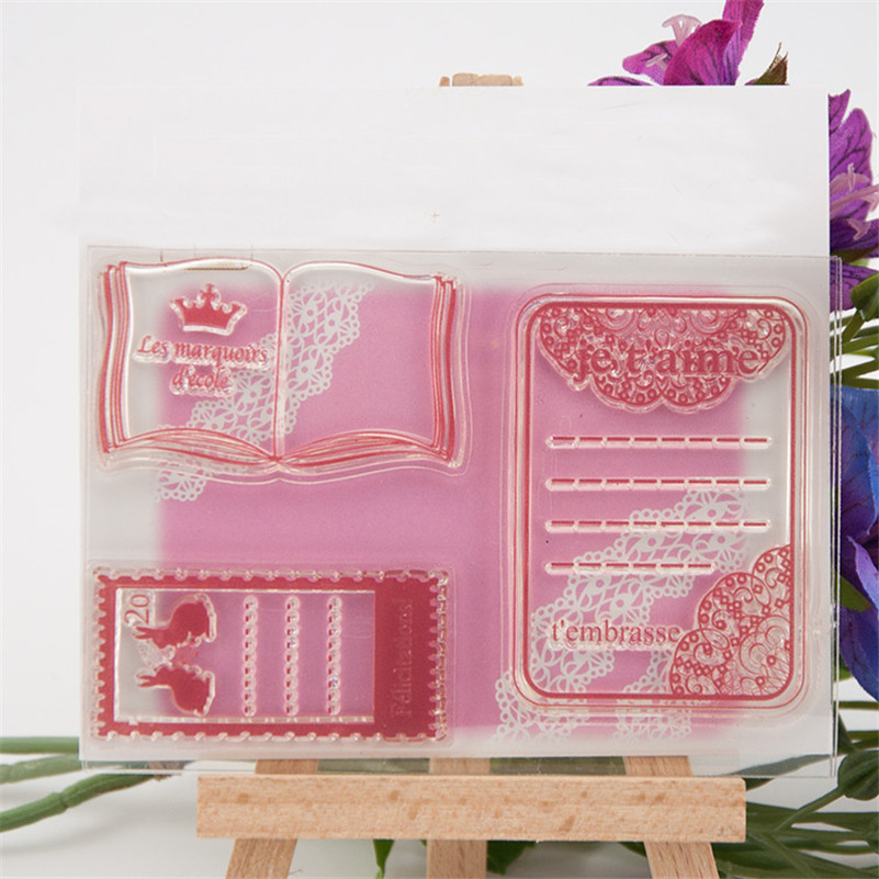 about book design clear stamp for diy scrapbooking photo album transparent stamp for wedding gift christmas gift RM-137 about loving heart design transparent clear silicone stamp for diy scrapbooking photo album clear stamp christmas gift ll 278