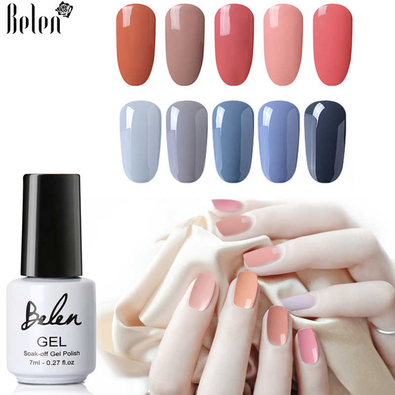 Detail Feedback Questions about Belen 7ml Nude Gray Series Blue Red ...