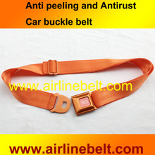 Hot selling Colorful auto car seat belt safety aluminum buckle fashion belt mens pants jeans outdoor belt shipping free