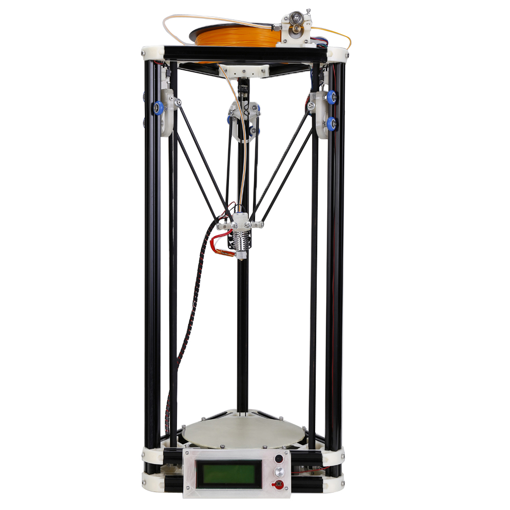FDM desktop Type China abs 3d printer with 40m filament SD card LCD masking tape for Free