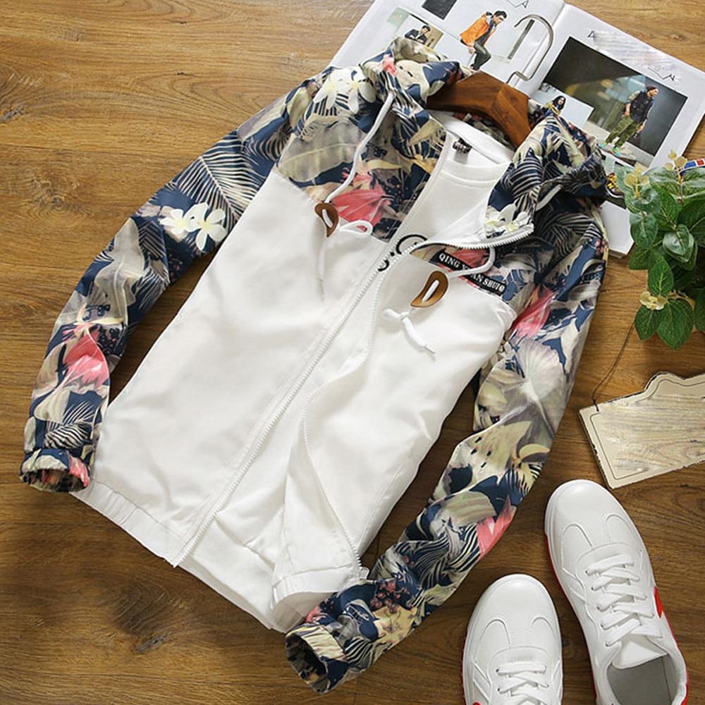 Women's   jacket   2019 Summer Causal Hooded Windbreaker Women Fashion   Basic     Jackets   Coats Zipper Bomber   Jackets   Outwear