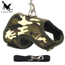 Brown Leopard Easy Go Chihuahua Harness