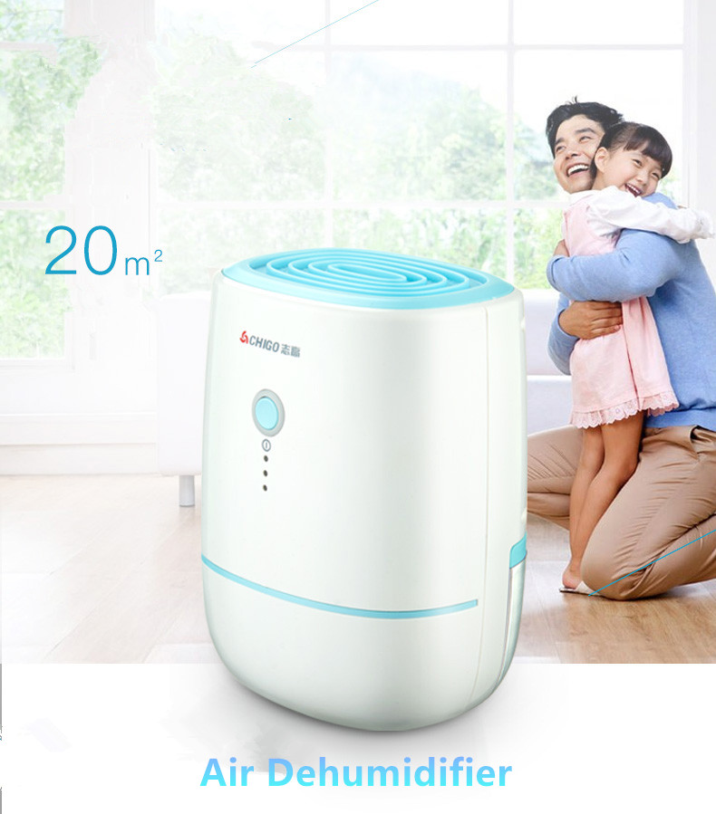 Mini Home Dehumidifier Air Dryer Moisture Absorber Electric Cooling Dryer with 500ML Water Tank for Home Bedroom Kitchen Office mini air dehumidifier wardrobe bookcase moisture absorbing tool electric cooling machine air dryer for home kitchen bedroom