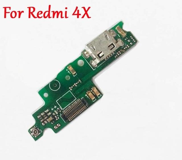 USB зарядная станция Зарядное устройство Порты и разъёмы Разъем для печатной платы Корпус + микрофон модуль запасных Запчасти для Xiaomi Hongmi Redmi 4X