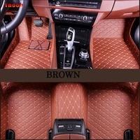 Ynooh car floor mats For bmw x5 e53 e70 accessories x1 x3 e83 e70 x1 f48 f10 x4 f48 e90 x6 e71 f34 e36 g30 e60 car mats