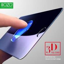 Полное покрытие 3d закаленное стекло пленка для iphone 7 7 plus 4.7 & 5.5 «с 9 H Анти-Синий Свет 3D Край Изогнутый Экран Протектор