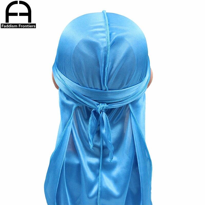 Kids Silky Durags Bandanas Turban Hat Child Boys Silk DuRag Waves Cap Headband Headwear Hair Accessories Outside Stitch Du-Rag beanie