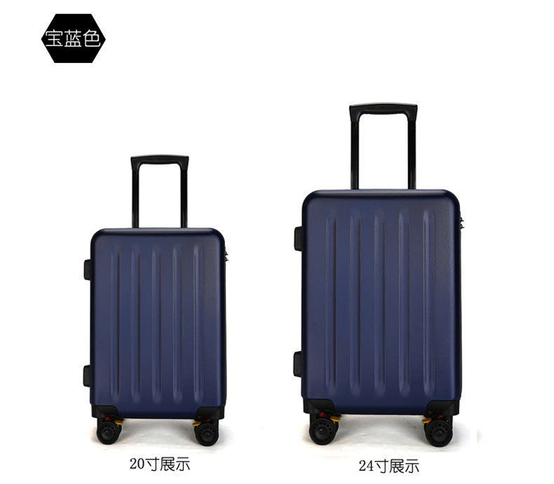 ZYJ Travel Trolley Luggage Men Women Alloy Business Solid Rolling Scratchproof Airplane Suitcase Luggage Spinner Wheels Trunk (9)