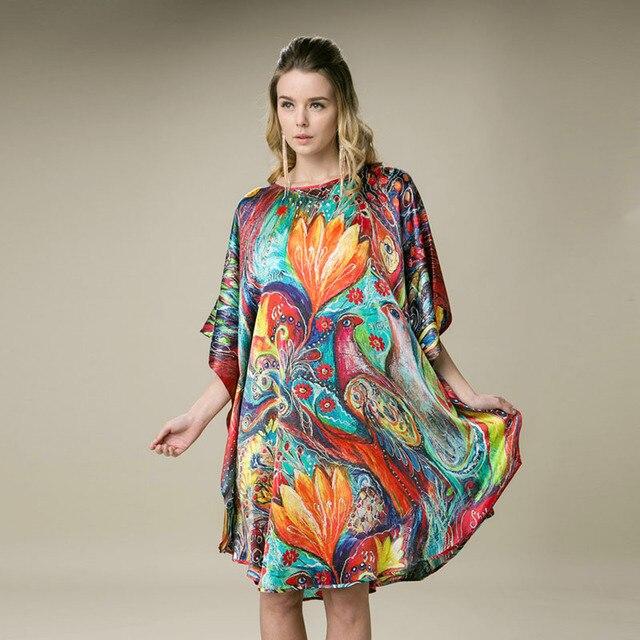 100 Silk Satin Dress Natural Mulberry Silk Women Dresses Plus Size