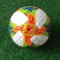 2019 balón de fútbol profesional talla oficial 5 balón de fútbol PU Premier fútbol deportes entrenamiento pelota voetbal fútbol bola