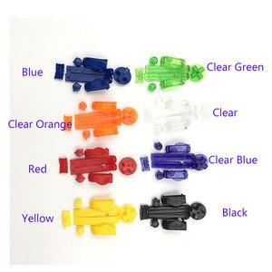 Image 4 - 10 комплектов, сменные кнопки A B L R, левые и правые кнопки, кнопки для Gameboy Advance, кнопки, рамка для GBA