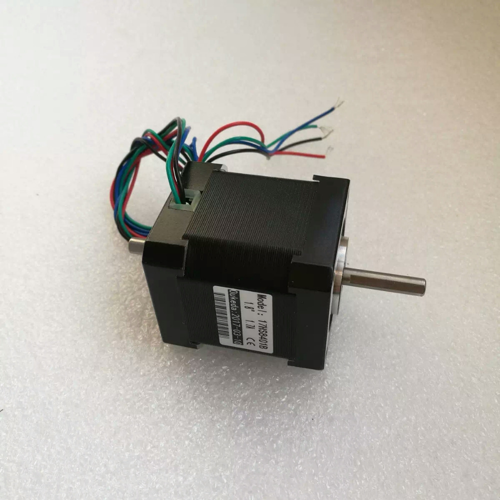 5pcs Dual shaft NEMA17 stepper motor 78 Oz-in CNC stepper motor nema 17 17hs8401B stepping motor/1.8A original jjrc body shell