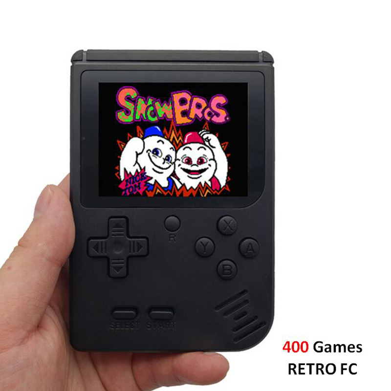 Image 2 - Retro Portable Mini Video Game Console 8 Bit Pocket Handheld Game Player Built in 400 in 1 Classic Games Best Gift game boy-in Handheld Game Players from Consumer Electronics