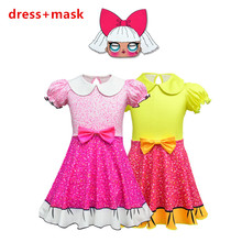 Dresses Summer Hot Ladybug Dolls Dress Christmas Party Ballet Costumes Kids Cosplay Clothes Children Princess baby Girls Dress
