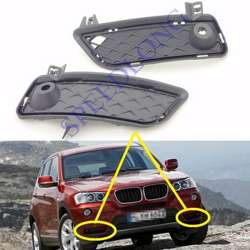 2 Pcs/Pair RH and LH Front Bumper Lower Grille Grill trim for BMW F25 X3 2011-2014