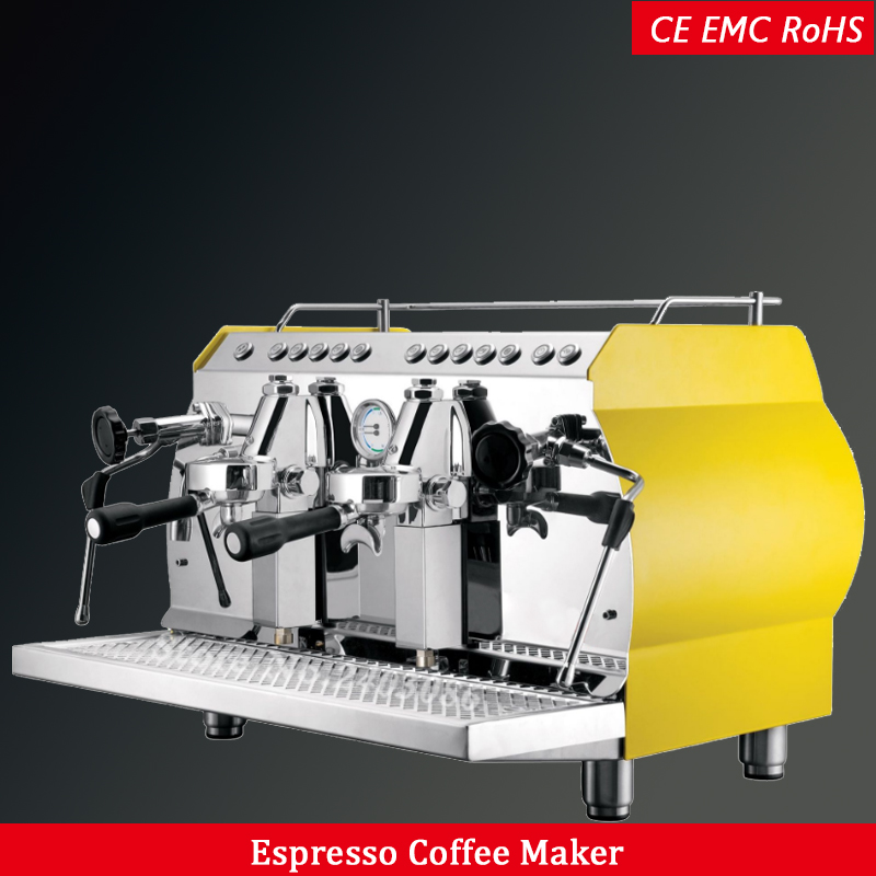 ce RoHS stainless steel electric italian coffee machine semi automatic 220V 11 16 cups espresso coffee maker kitchen appliance