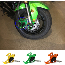 Discount! Motorcycle Accessories Front Brake Disc Caliper Brakecaliper Guard Protector Cover For Kawasaki Z125 Z 125 Pro 2015 2016 2017