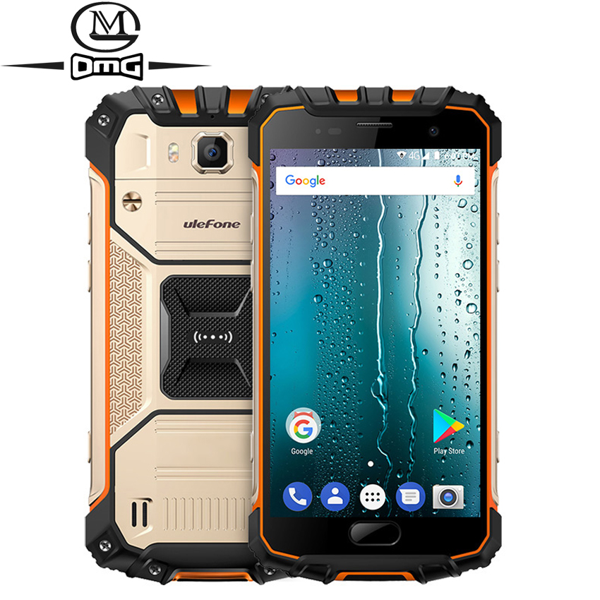 """Ulefone Armor 2s IP68 Waterproof shockproof 4G Smartphone Android 7.0 5.0"""" MTK6737T Quad Core 2GB RAM 16GB ROM 13MP mobile phone"""