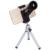 SY1 Zoom Len Ronda 3 en 1 lente de la cámara del teléfono Móvil paisaje CPL polarizado lente de la cámara externa tríada foto clip universal lente