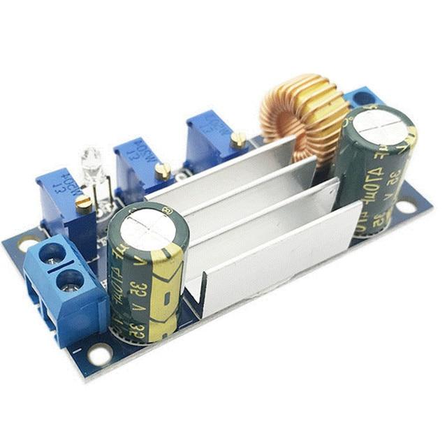 DC-DC 5A Step-down CC CV Constant Voltage Constant Current Solar Lithium Battery LED Driver Module With PWM