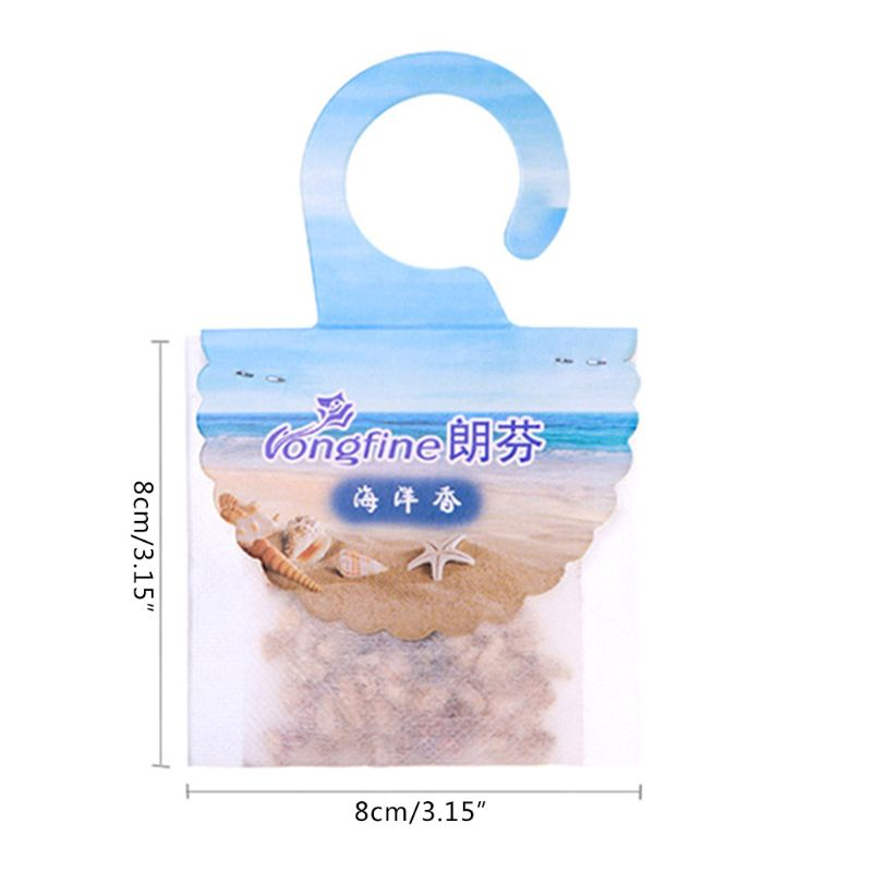 Hanging Scented Fragrance Bag Air Refreshing Refresher Wardrobe Closets Drawer Sachet Decoration Supplies