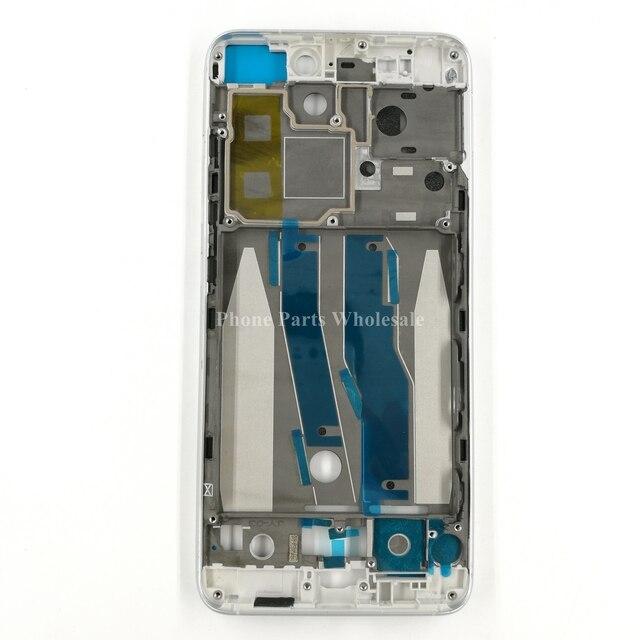Для Xiaomi Mi 5 5S Mi5 Mi5S Оригинальная Передняя Рамка Рамка для Дома ЖК-Экран Поддержка Держатель Рамы Запасных Частей