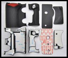 Новый набор 4 шт. ручка резиновое покрытие блок для Nikon D200 цифровой Камера Для тела резиновая В виде ракушки + Клейкие ленты