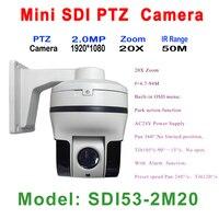 Comprar Zoom de 20x HD SDI Mini cámara IP IP66 exterior interior Zoom de enfoque automático de