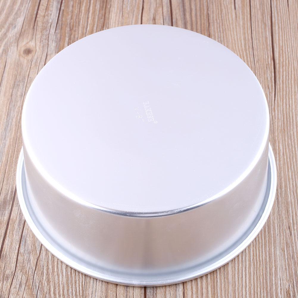 5 Quot Aluminum Alloy Round Cake Baking Mould Pan Tin Mold
