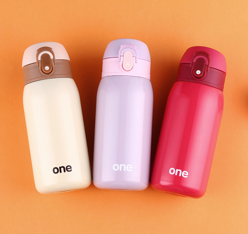 320ML 220ML Kids <font><b>Baby</b></font> Feeding Cup Thermos Cup 304 Stainless Steel For Children Insulated Water Bottle Leak-<font><b>poof</b></font> Thermal Bottles image