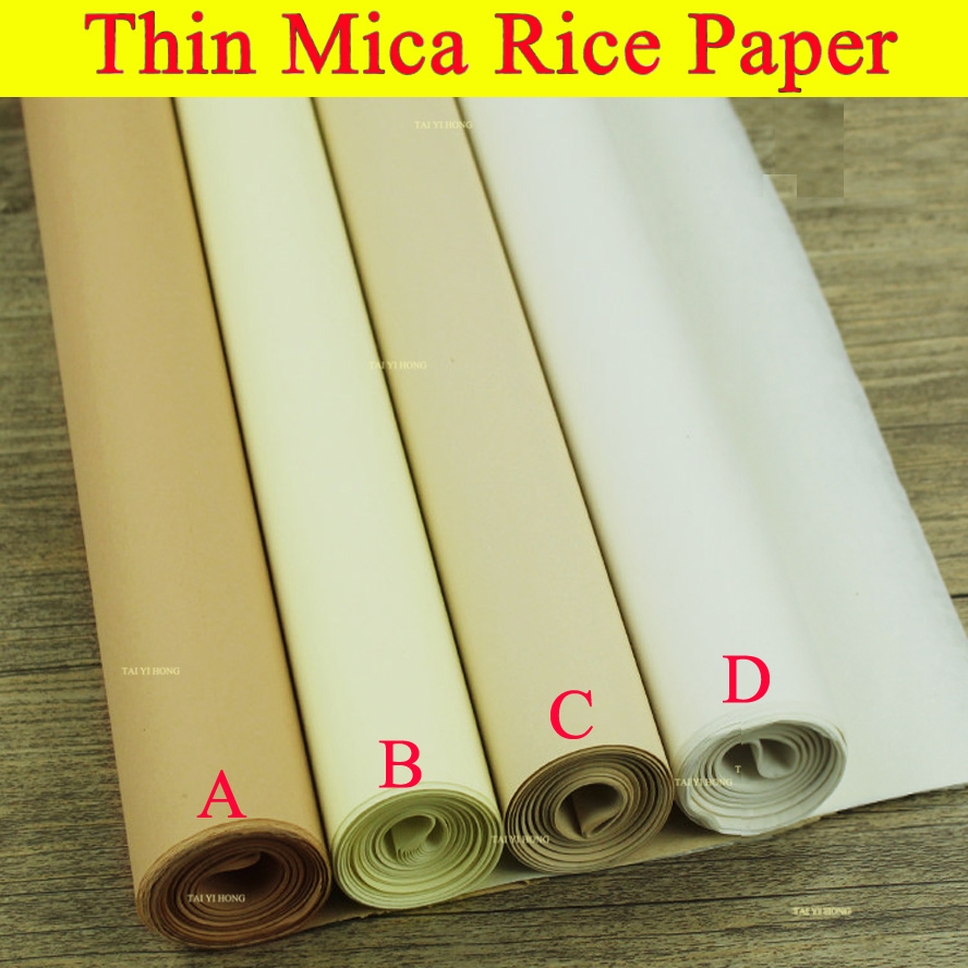 Thin Rice Paper for Painting Callilgraphy xuan zhi Paper Trace paper Art School supply