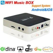 EZCAST Airplay DLNA(DMR) Music Radio Receiver iOS & Android Airmusic Air music WIFI HiFI Audio Receiver FLAC APE Wi-Fi Music Box