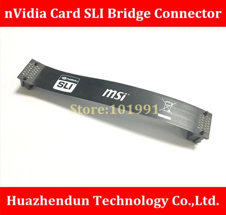 все цены на  High Quality  nVidia Card  SLI Bridge PCI-E Graphics  Connector  13CM Bridge connection for Video Card  онлайн