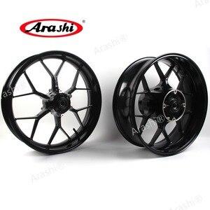 Image 2 - Arashi 1 Set Front Rear Wheel Rims For HONDA CBR600RR 2007 2017 Motorcycle Rims CBR600 CBR 600 RR 600RR 2014 2015 2016 2017