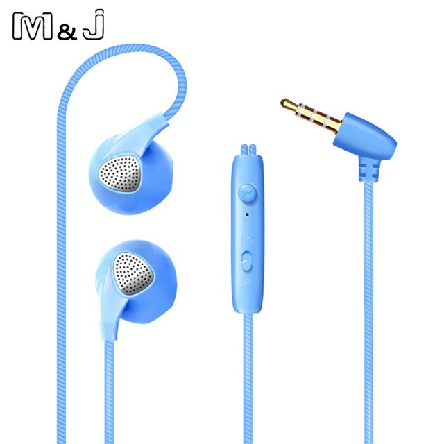 With Microphone  Jack Bass Headset For Iphone Apple Sumsang Sport Headphones Earphone For iPhone 6 6S 5 Phone Headphone