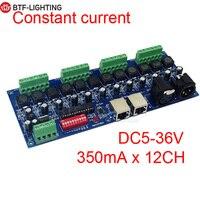DMX Konstante strom (unabhängige) 3CH, 4CH, 12 kanal dmx512 decoder, DMX LED controller, 350MA/700MA
