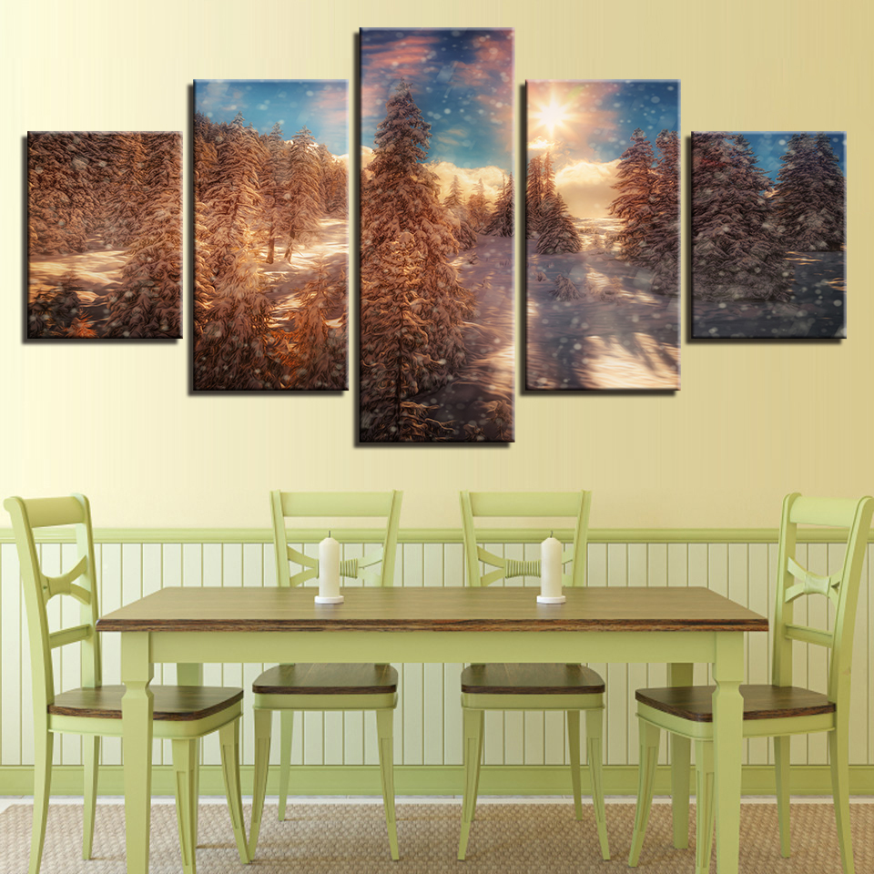 Buy cypress tree painting and get free shipping on AliExpress.com
