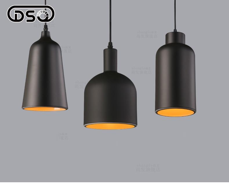 ФОТО 1 Pcs Modern Brief Painted Pendant Light Restaurant Light
