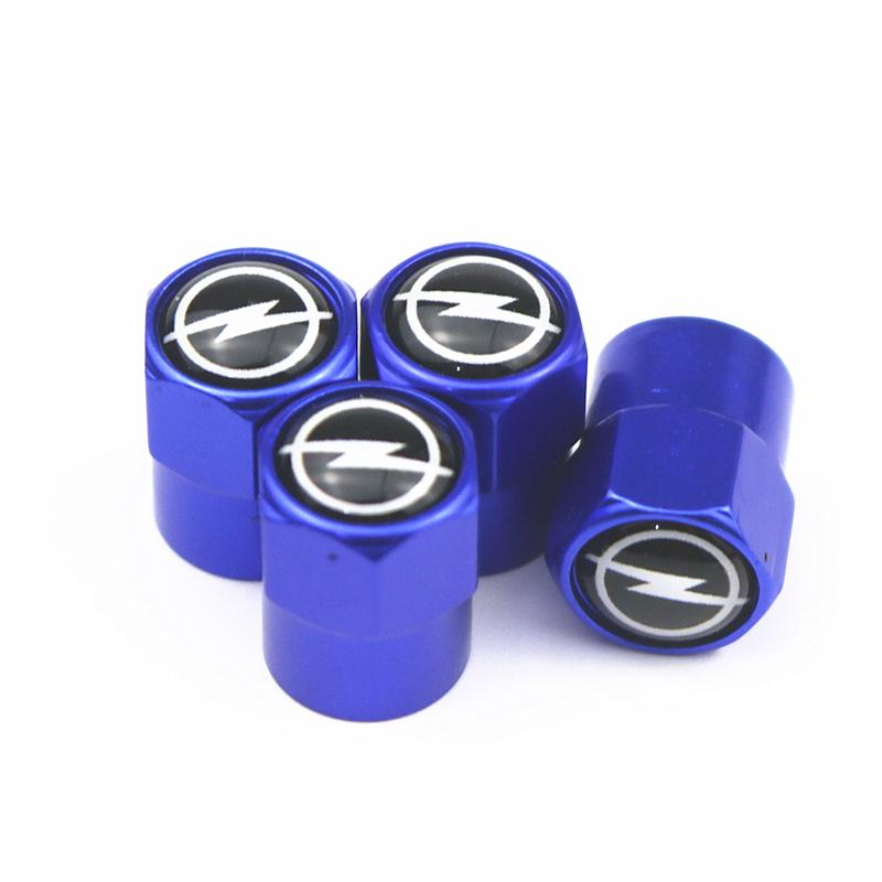 4pcs style Metal Wheel Tire Valve Caps Case For Vw Hyundai Toyota Nissan Audi Skoda Renault Opel Lada Chevrolet Car Accessories 25