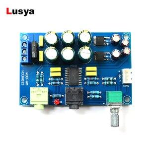 TPA6120 Hifi Headphone Amplifier Board TPA6120A2 Hifi Zero Noise Amplificador Board DIY /Finished F7-013