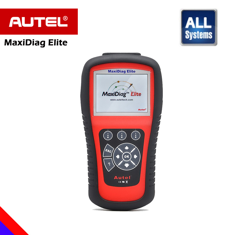 цена на Autel MaxiDiag Elite MD802 Car Diagnostic Scanner Automotivo FULL System MD805 OBD OBD2 Scanner 100% Original Diagnostic Tool