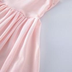 Pink girl long dress,Junior Bridesmaid dress Wedding girl dress Party girl dress Birthday girl dress Lace baby dress Tutu dresses (7)_
